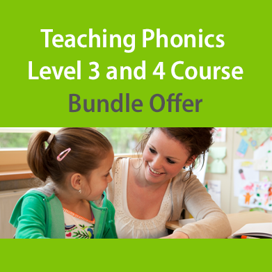 Teaching Phonics Level 3 and 4 Course Bundle