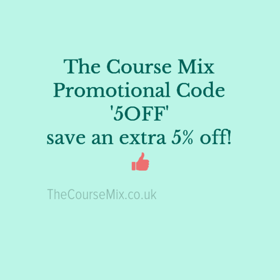 Promotional Code for The Course Mix